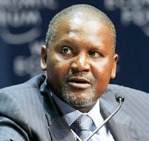 Nigeria's Aliko Dangote emerges world's 25th richest
