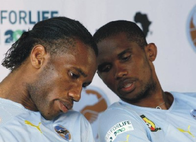 [PHOTOS NEWS] SAMUEL ETO'O & DIDIER DROGBA: HOUSES, WOMEN, MONEY AND CARS