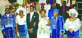 President Jonathan daughter's wedding