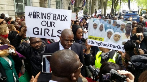 PHOTONEWS: #BringBackOurGirls Protest In London