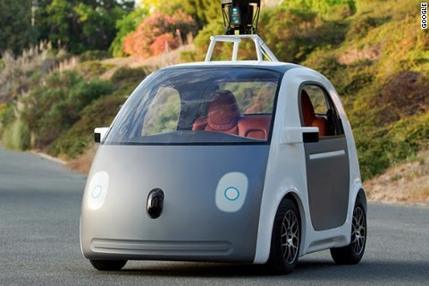 Google unveils self-driving car prototype