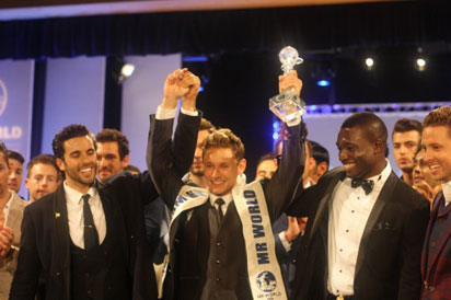 Nigeria emerges 2nd at Mr. World competition