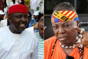 Charly Boy disgraces Governor Okorocha at Father's burial