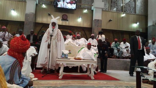 Why Sanusi is operating outside Kano Emir's palace