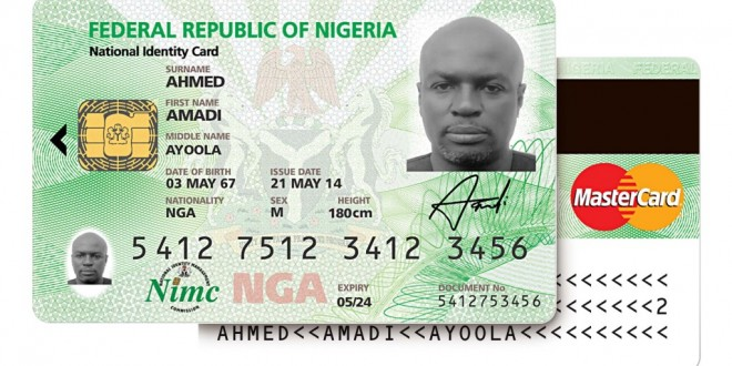 Every Nigerian to get NIN as President Jonathan launches MasterCard-branded National eID Card