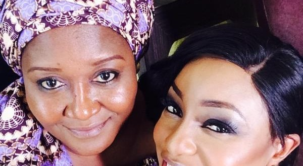 Rita Dominic Takes Selfie With Nollywood Star