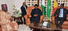 Alleged Boko Haam sponsor Ali Modu Sheriff sat in high level security meetingt between President Goodluck Jonathan and his Chadian colleague, Idris Derby
