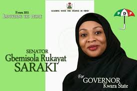 2015: Gbemisola Saraki joins Kwara governorship race; set to battle brother again