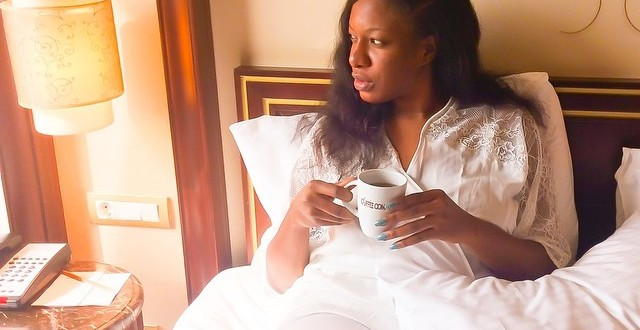 Wow Chika Ike shares pic from her bed in Istanbul Turkey