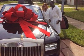Top Nigerian Socialite, Ayiri Emami, Shocked Wife With N75M Roll Royce As Birthday Gift (Pictures)