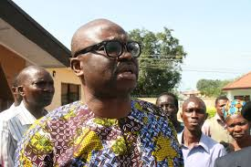 Ekiti Governor, Fayose berates OBJ for criticising Jonathan
