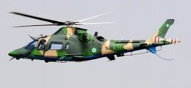 Nigeria Military Helicopter