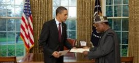 Obama and Adefuye