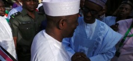 Governor Ngilari and Nuhu Ribadu