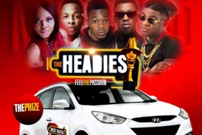 The Headies 2014: Patoranking crowned the Next Rated, received a brand new Hyundai car.
