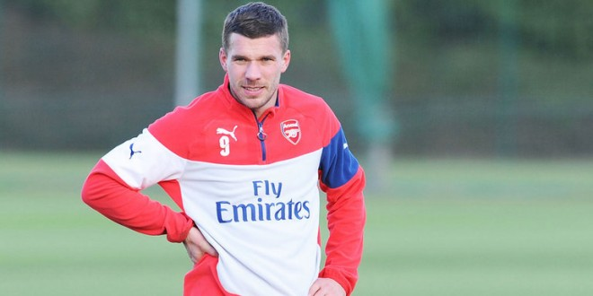 Transfer news: Podolski maybe heading to Inter Milan on Loan