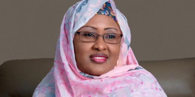 I did not receive any SUV from the IG — Aisha Buhari