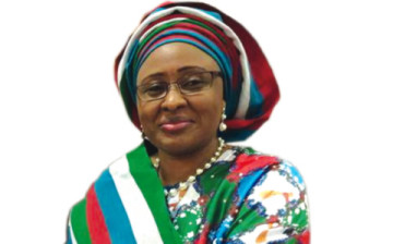 My husband will obey rule of law and as First Lady, will perform only constitutionally assigned roles –Aisha Buhari