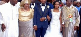 OBASANJO, PATIENCE AND JONATHAN AT GEJ DAUGHTER'S WEDDING