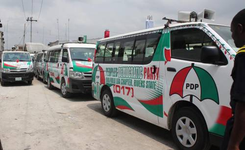 PDP Campaign Vehicles
