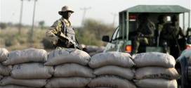 Soldiers in Maiduguri