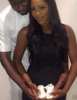 Tiwa Savage and husband, Tee Billz Expecting 1st Child