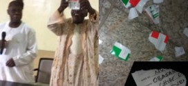 Obasanjo tears PDP membership card