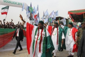 Jonathan's campaign votes millions to hire anti-Buhari protesters in London