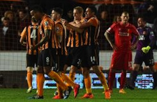 Liverpool can finish top four despite defeat – Rodgers