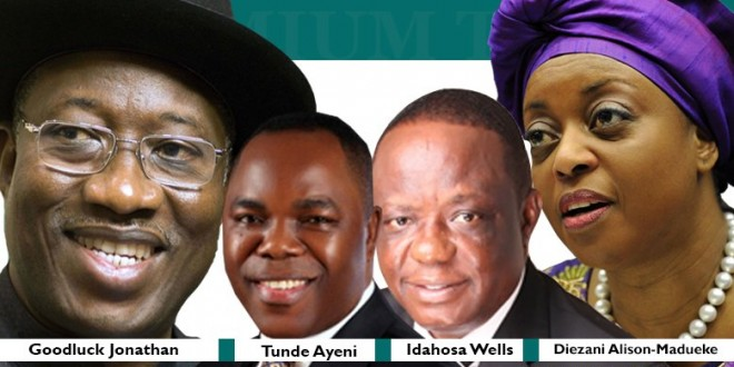 INVESTIGATION: Jonathan, Alison-Madueke, Tunde Ayeni, named in fraudulent oil contracts that cost Nigeria billions