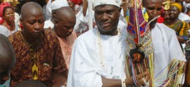 Ooni of Ife receives Crown