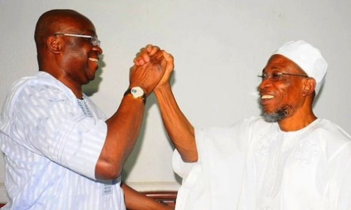Face reality PDP is dead, Aregbesola tells Fayose