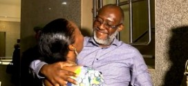 Olisa Metuh reunite with family