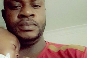 CHECKOUT ODUNLADE ADEKOLA WITH HIS CUTE SON