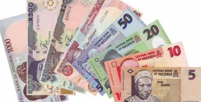 Naira Drops to record low of 345 per dollar