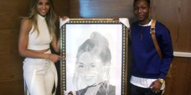SEE WHAT A NIGERIAN STUDENT DID TO AMERICAN SINGER, CIARA