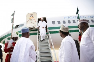 BREAKING: Finally, Buhari returns to Nigeria today