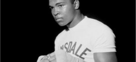 Muhammad Ali in his youthful days