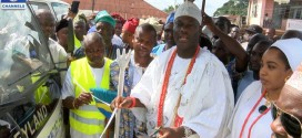 Ooni of Ife at the launching of the gbafemo initiative