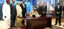 Nigeria to Reverse Effects Of Climate Change as Buhari Signs Paris Agreement