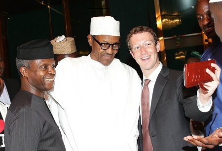 Zuckerberg Holds Closed Door Meeting With President Buhari