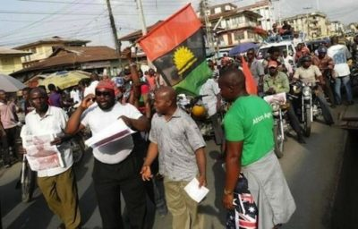 Breaking: 50 Biafran demonstrators in police net