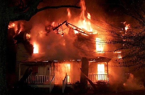 Tragedy as Mother and her 3 children burnt to death in a fire outbreak