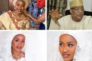IBB's daughter, Halima Babagida weds in grand style