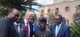Osinbajo attends G7 summit, meets Trump