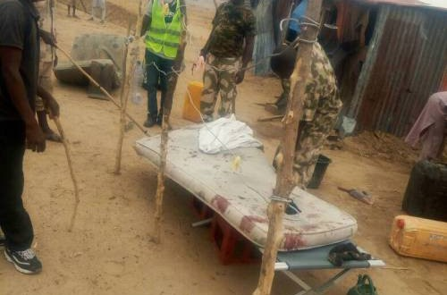 Breaking: Suicide Bomber Kills Two Nigerian Soldiers In Borno