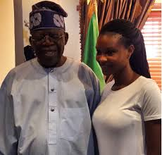 Tinubu and Moji Olaiya's daughter