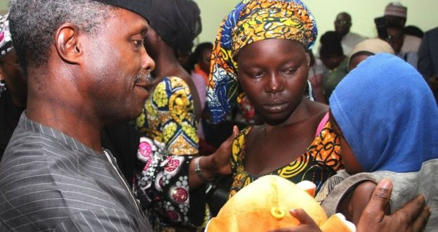 Another Chibok Girl Has Been Found – Osinbajo