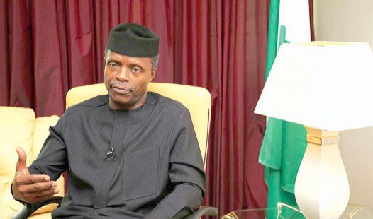 FG Spent N1.3trn On Capital Projects In 2016 – Osinbajo