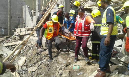 3 Killed,19 Injured In Lagos Building Collapse